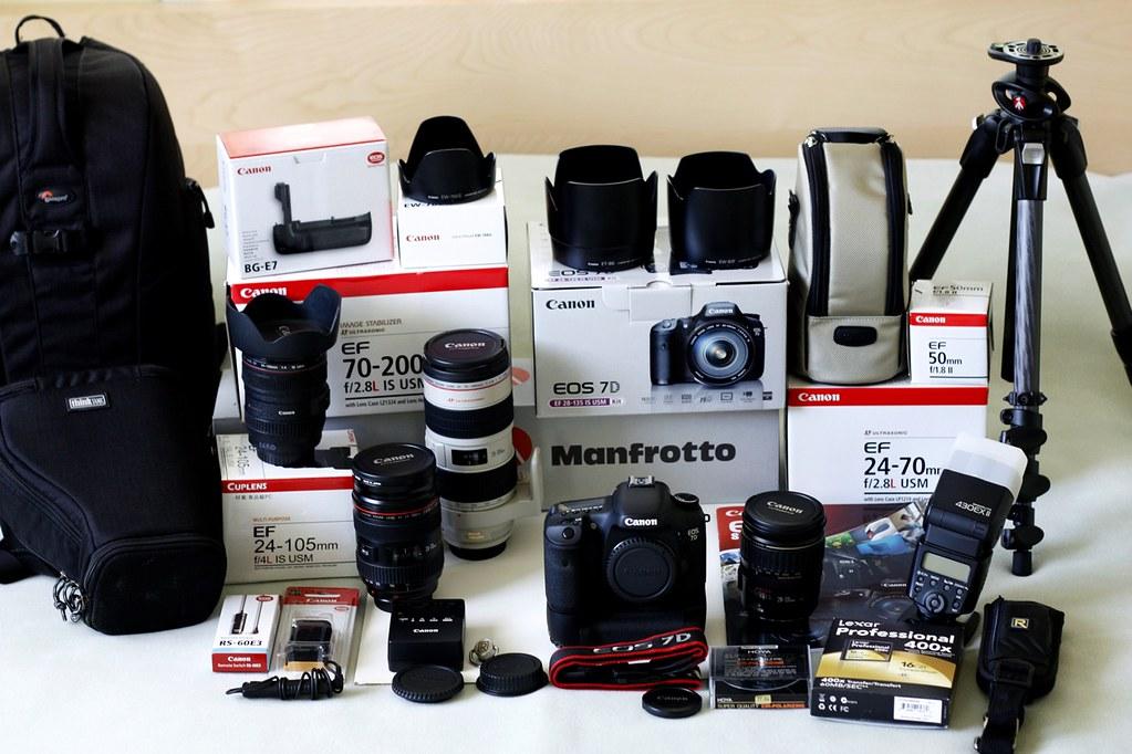 Canon EOS 7d &