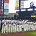 The New York Mets on Opening Day at Citi Field