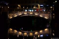 IMGP2309 (Claudio e Lucia Images around the world) Tags: reflections lubiana ljubljana water river bridge lights shade sigma
