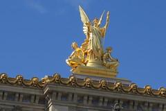 Charles Gumery's La Poésie (Poetry) - Palais Garnier - Opéra de Paris (right wing) (Suresh /R) Tags: paris opera opéra garnier palaisgarnier charles gumery charlesgumery