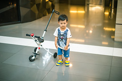 Portrait of baby boy standing in the mall (HIKARU Pan) Tags: 1dx 23years 50l asia babiesonly babystroller brownhair canon canonef50mmf12lusm china chinaeastasia colorimage eos1dx fulllength imagefocustechnique onebabyboyonly oneperson people portrait realpeople resting selectivefocus serious shanghai sweater toddler tricycle baby babyboy babyboys babyclothing blackeye blackhair carefree casualclothing cheerful child childhood chineseethnicity curiosity cute day enjoyment exploration frontview fun happiness horizontal indoors innocence joy lifestyles lookingaway photography playful playing relaxation simpleliving sitting smiling standing