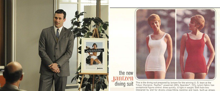 Mad Men featured Portland's Jantzen Swimwear