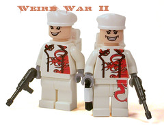 Japanese Spec Ops (*Nobodycares*) Tags: japanese lego wwii worldwarii ww2 guns powers spec axis ops worldwar2 japs uas sheaths mp40 brickarms aww2 brickforge mmcb weirdwar2 wierdwarii awwii