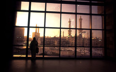 mom in silhouette (ir!s) Tags: sunset cosina wide lobby haram 15mm mecca mekah masjidil alsafwa