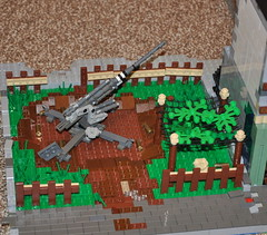 Flak Emplacement (The Ranger of Awesomeness) Tags: lego wwii operation 2010 brickarms operationbricklord legolegolego bricklord legoflak88 europeatwar