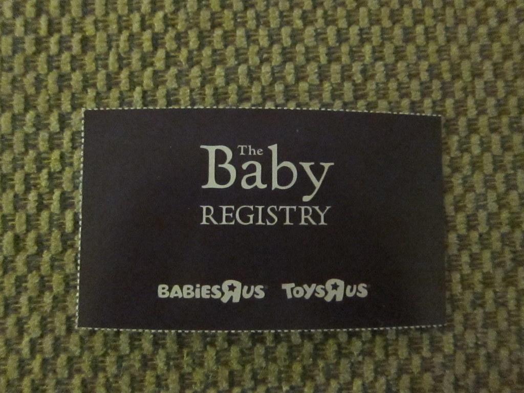 115/365 - Baby Registry