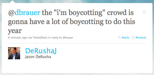 Jason DeRusha on Boycott Challenges