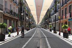 Streets of Granada, Spain (tarmo888) Tags: street shadow bicycle vanishingpoint spain europe andalucia special granada asphalt casioexilim asfalt vari puhkus vacationtravel tnav jalgratas photoimage sooc gisteqphototrackr exf1 geosetter year2010 geotaggedphoto foto