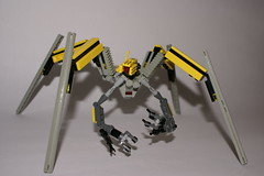 NTM4-S (NIRDIAN) Tags: 3 robot construction lego d space yay science repair future automatic scifi fragile civilian mech insectoid spindly moc spiderish quadrapod neolithictechnolog