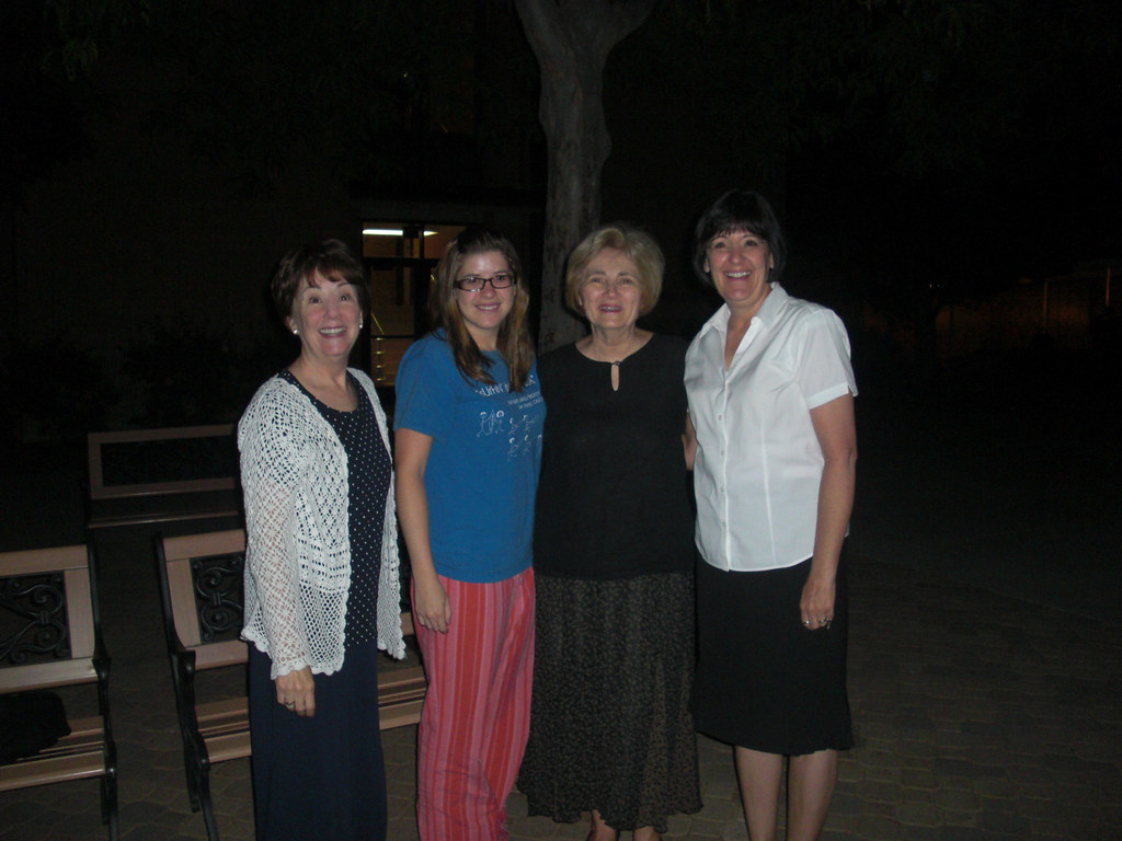 July 27, 2:30 AM Michelle & Whitney Skinner and Maria say goodby to Ann
