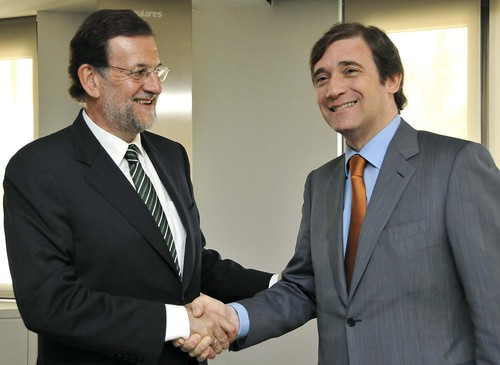 Pedro Passos Coelho em Madrid (6)