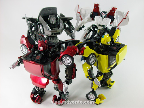 Transformers Cliffjumper Alternity vs Bumblebee vs ... Bumblebee Vs Megatron