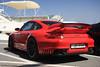 Porsche 997 GT2 (Raul Salinas) Tags: red españa black car canon puerto photography eos spain power salinas exotic porsche raul 17 rims 85 supercar gt2 marbella qatar 997 banus 40d autogespot