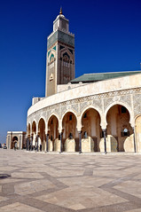 Casablanca - Mosquée Hassan II (p.fabian) Tags: arquitectura islam religion mosque morocco maroc architektur mezquita marruecos marokko achitecture mosquée مسجد moschee المغرب モスク الدارالبيضاء モロッコ カサブランカ
