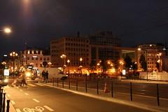 Belgique - Brussels by night (saigneurdeguerre) Tags: brussels night noche europa europe place belgium belgique nacht belgi bruxelles ponte noite brssel brussel nuit belgica bruxelas belgien neoclassic aponte neoclassique rouppe antonioponte ponteantonio saigneurdeguerre