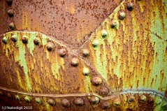 00000051 Boiler (Nakedigit) Tags: brown green birmingham rust iron rivets industrial rusty steam boiler birminghamuk nakedigit