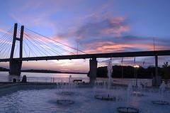 bridge hdr 1 (joannapoe) Tags: quincy illinois il baybridge mississippiriver myfavorites hdr
