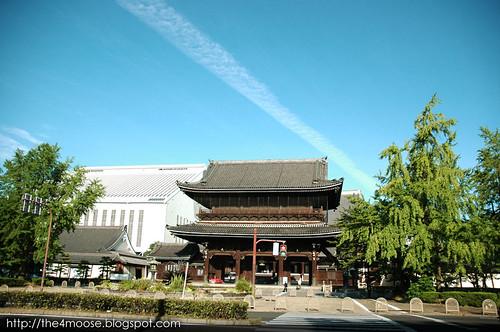Higashi-Hongan-ji 東本願寺 - Facade