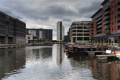 Clarence Dock, Leeds in HDR