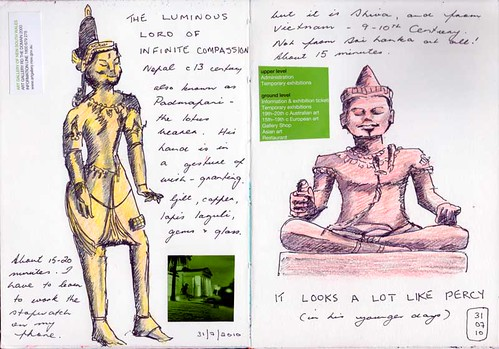 Buddhas - 28 th Sketchcrawl