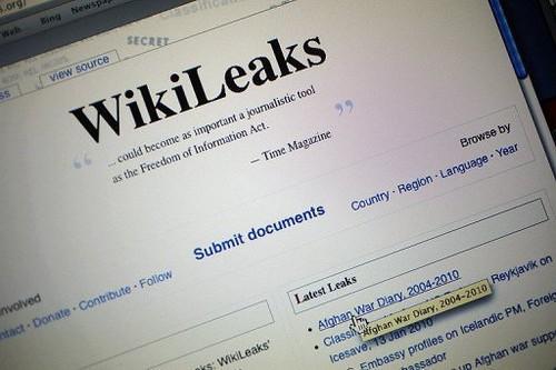 La web de Wikileaks