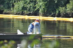 KALAMAZOO RIVER OIL SPILL by mic stolz