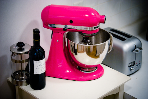 (WISHLIST) hot pink KA mixer