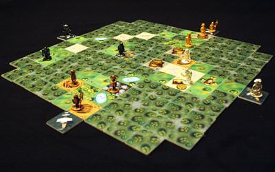 Игровое поле настольной игры Шакал