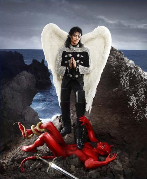 David LaChapelle, American Jesus Archangel Michael And No Message Could Have Been Any Clearer