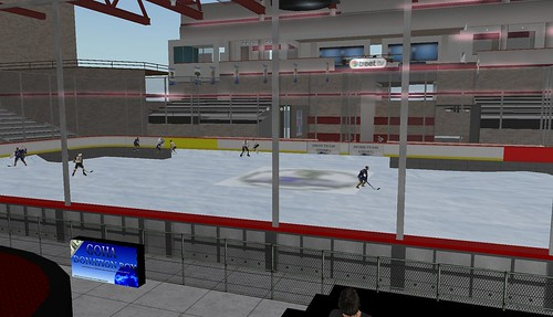 Ice Hockey rink at Chamonix City