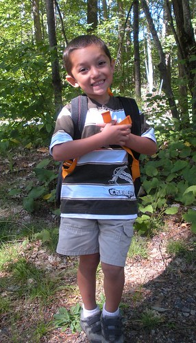 Mateo's First Day of PreK