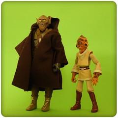 Of Mice and Monsters (R D L) Tags: robe coat alien jedi concept chewbacca hitops moncalamari nahdarvebb