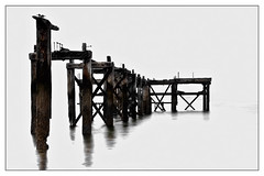 Old Pier, Aberdour (Iain McGregor) Tags: abstract pier fife derelict aberdour