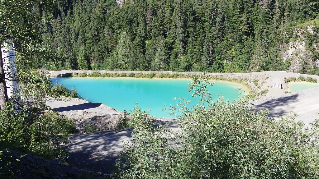 Tailing Ponds, Premier Mine, Premier, British Columbia