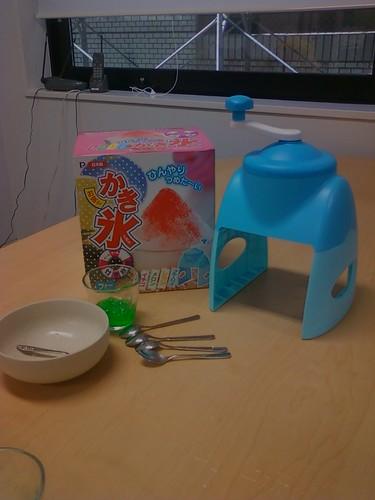 hielo picaooo (Kakigori)