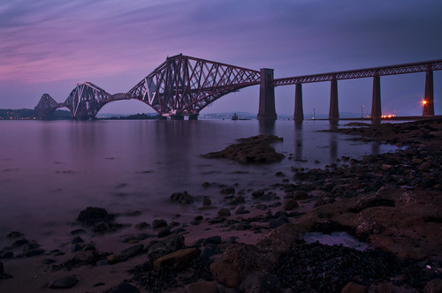 Forth Rail Bridge Long Exposure