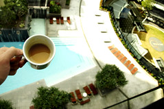 which one ? (K.A_photography) Tags: cup coffee pool circle top balcony australia pools coffe goldcoast balconi circleoncavill