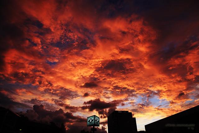 [北城] 天火 / [Taipei] Burning sky