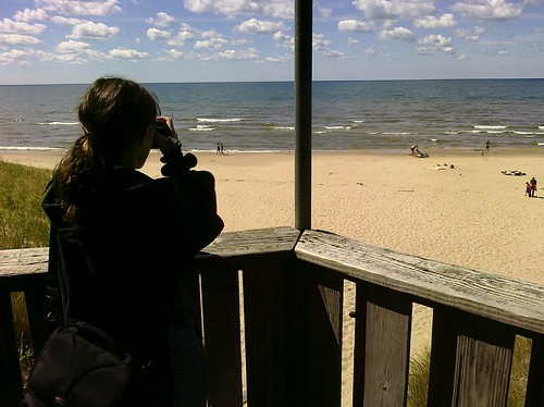 Jenn, lake Michigan Ptw