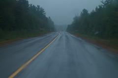 Rainy exit