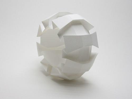origami - origamic sphere: 8 flaps (Jun Mitani) - tutorial ... | 375x500