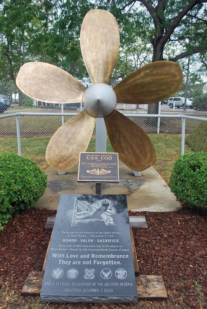 USS Cod WWII Memorial