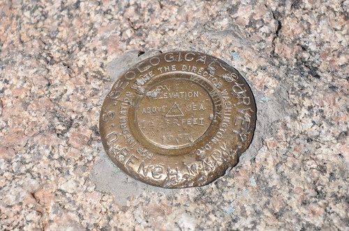 Mt. Evans Summit (Elev. 14258 feet above the sea).
