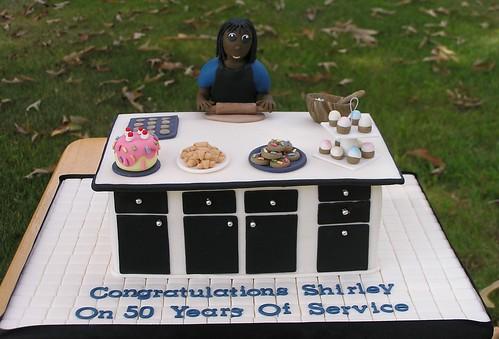 Kitchen cake! (Seen on Fox 8 News)