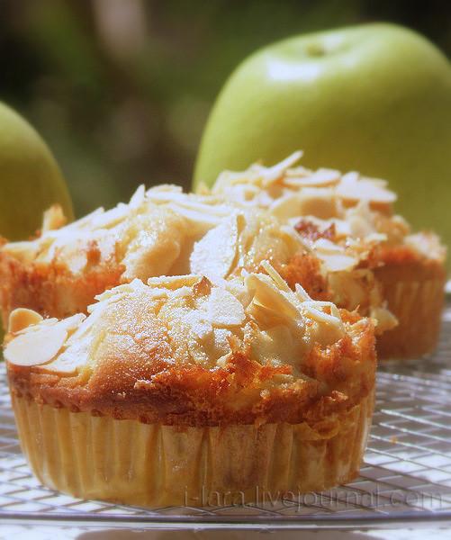 Пп кексы с яблоками