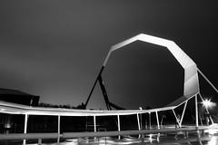 Shoot the Museum (: : G U M : :) Tags: longexposure blackandwhite bw sculpture art architecture canon australia canberra 1000d shootthemuseum nationalmusuemofaustralia