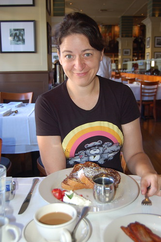 Kate and her French Toast