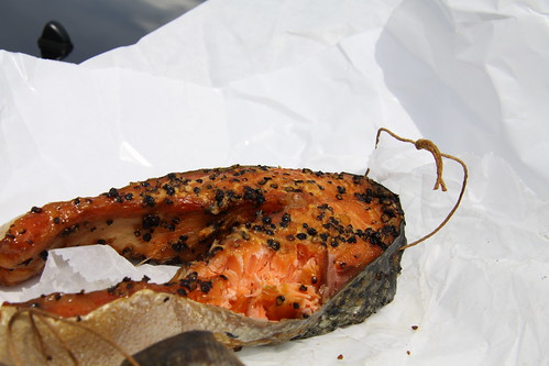 Calumet Fisheries - smoked peppered salmon
