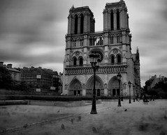 --ll-ll-- (Jurjen Harmsma Photography) Tags: longexposure sky bw church architecture clouds buildings lights spring air may wolken le mei lucht kerk 2010 zw gebouwen stedentrip citytrip lichten arc