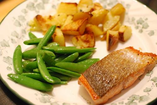 Salmon dinner!